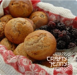 Recipe video - How to make healthy branberry muffins