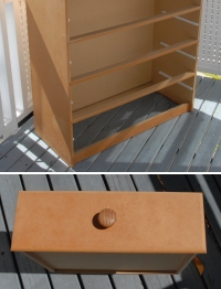 MDF chest of drawers